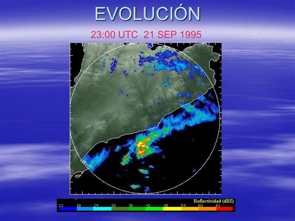 EVOLUCIÓN 23:00 UTC 21 SEP 1995