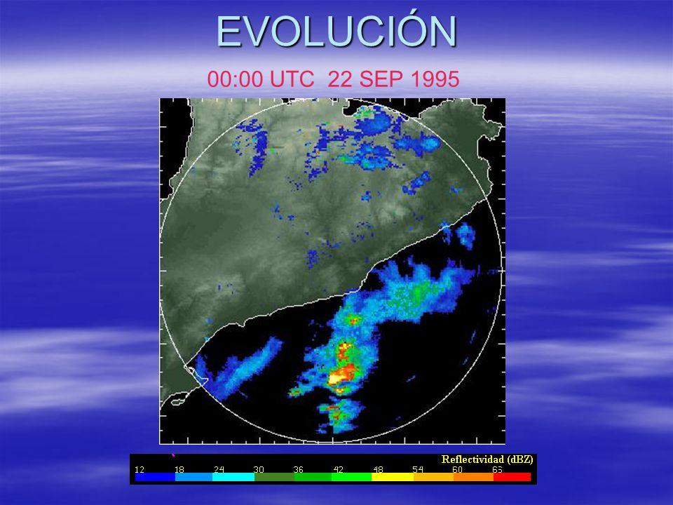 EVOLUCIÓN 00:00 UTC 22 SEP 1995
