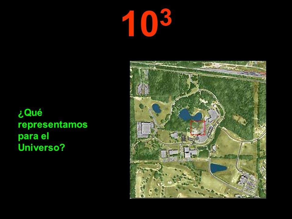 10 3 ¿Qué representamos para el Universo?