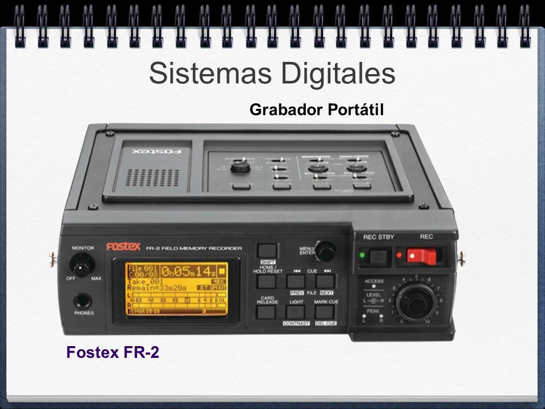 Sistemas Digitales Fostex FR-2 Grabador Portátil
