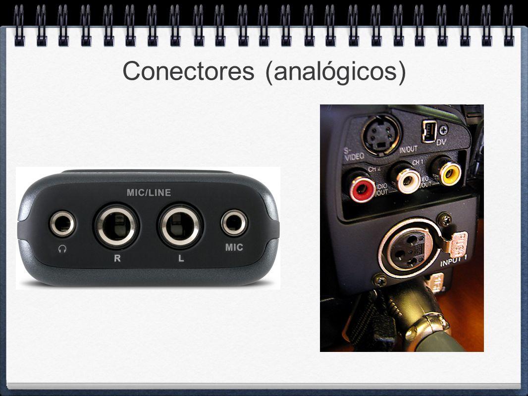 Conectores (analógicos)