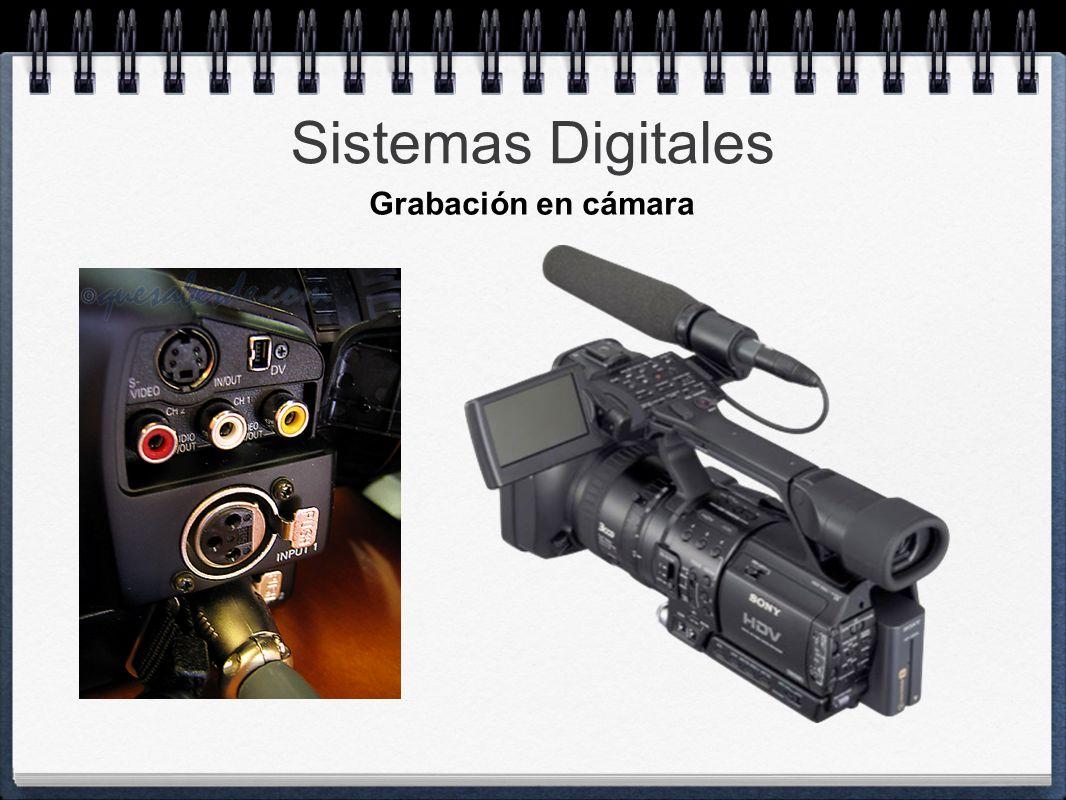 Sistemas Digitales Grabación en cámara