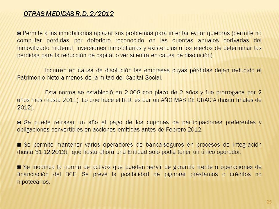 25 OTRAS MEDIDAS R.D.