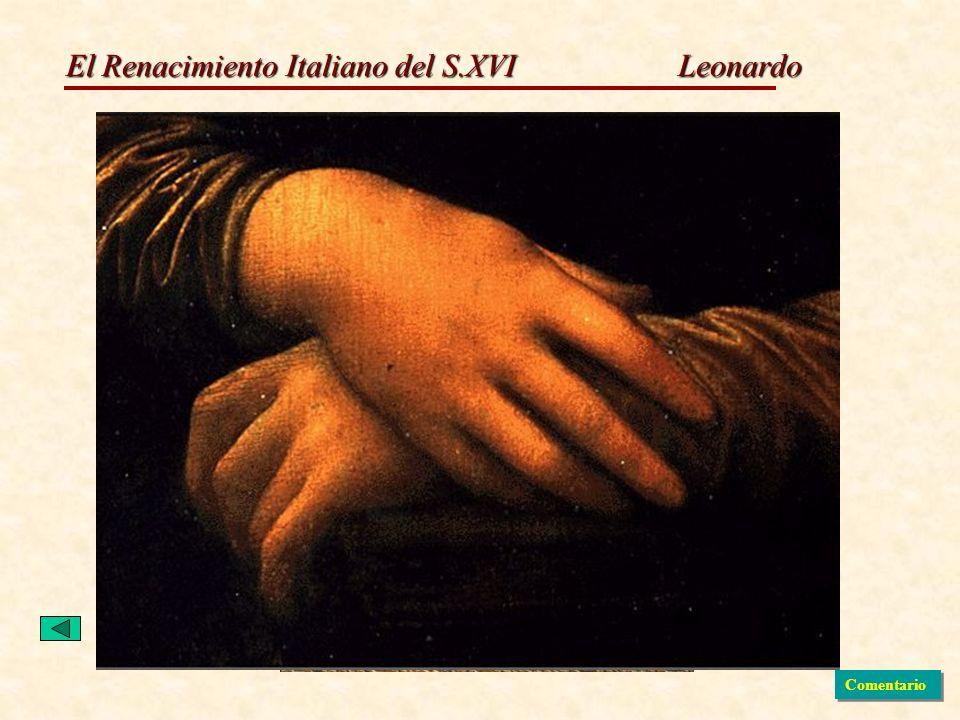El Renacimiento Italiano del S.XVI Leonardo Comentario
