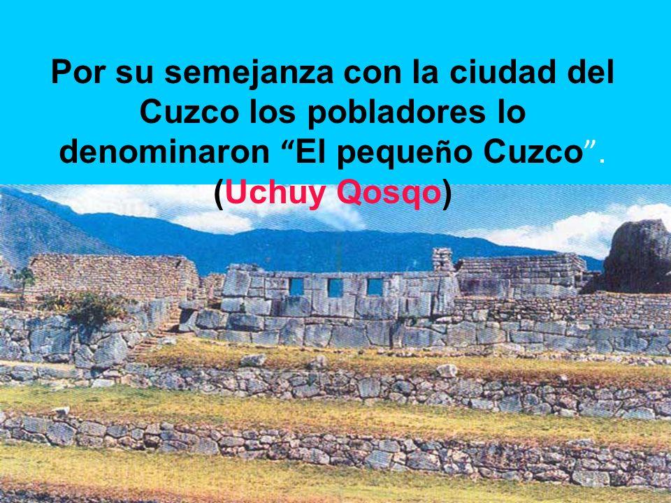 El Inka orden ó la construcci ó n en dicho cerro de un hermoss palacio, templos para el dios Sol y la diosa Luna y numerosas casas para albergar a sus