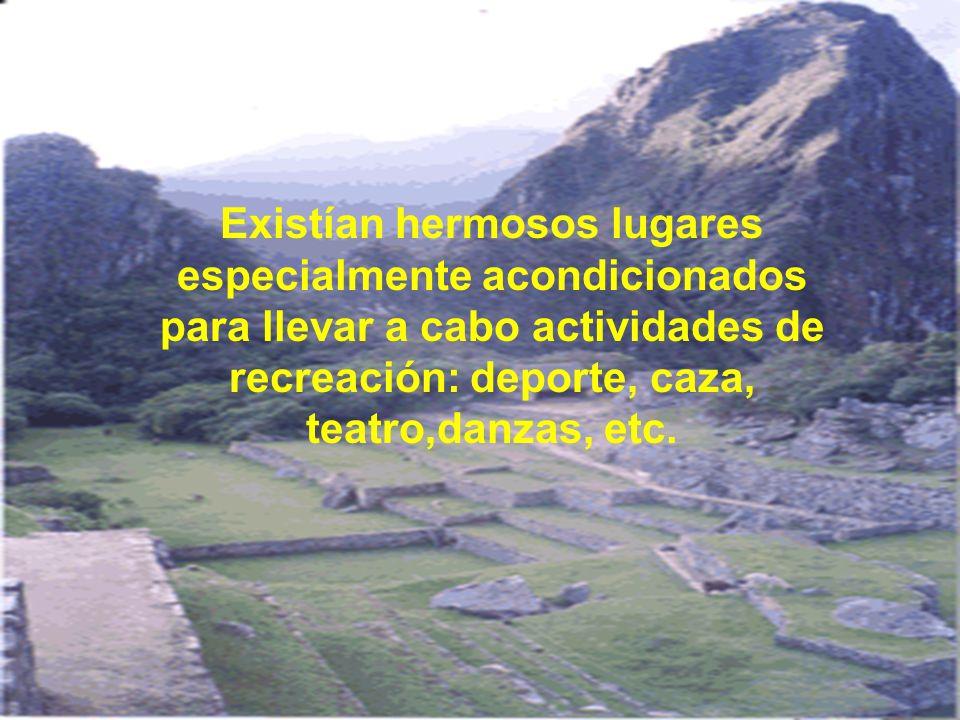 Machupicchu cumplía, sin lugar a dudas, una función específica: ser el lugar favorito del Inka Wiraqocha para su descanso y recreación.