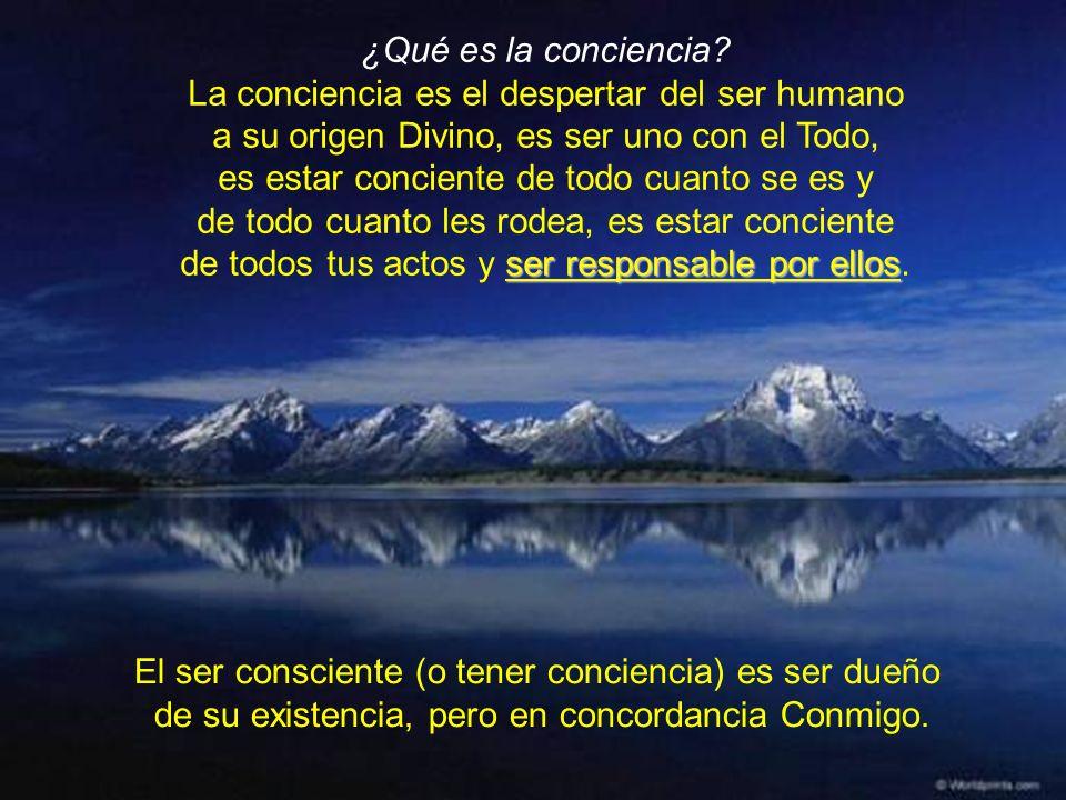 ¿Qué es la conciencia.