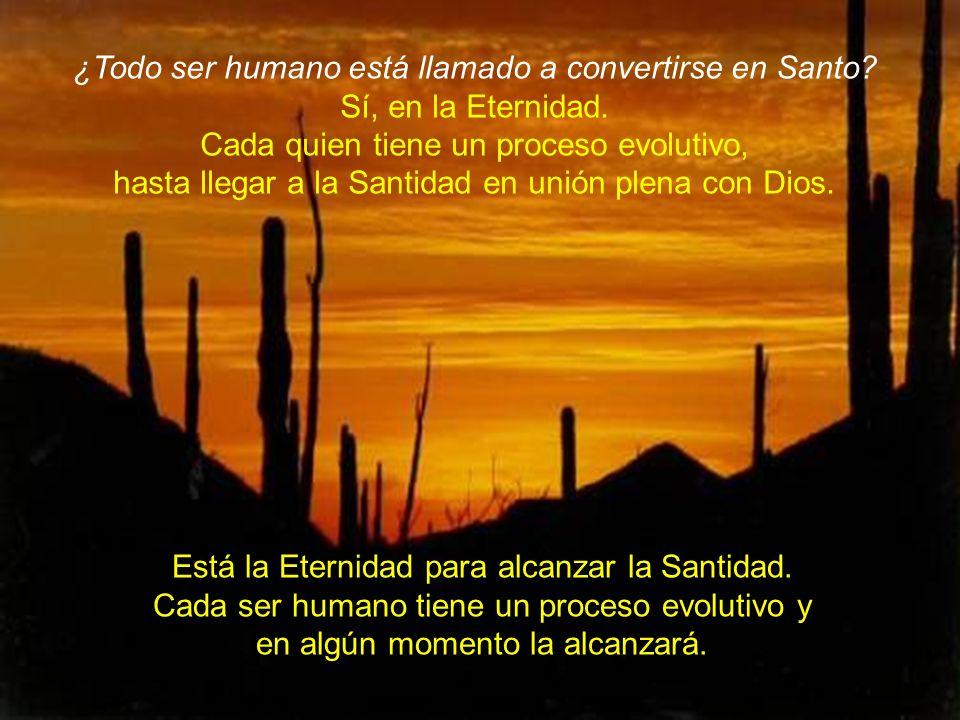 ¿Todo ser humano está llamado a convertirse en Santo.