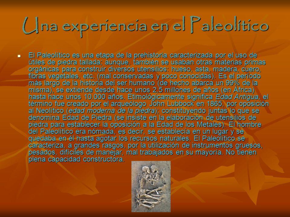 Viaje a la Prehistoria Desde hace tiempo los humanos nos preguntamos de donde procedemos y como era la vida en el pasado, que se construía. Lo veremos