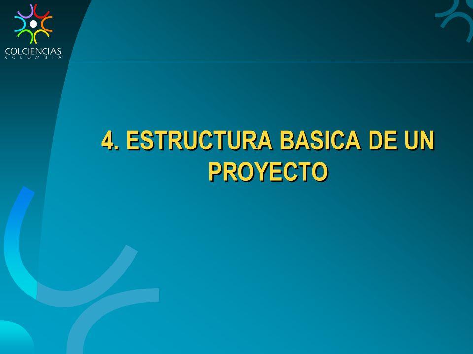 4. ESTRUCTURA BASICA DE UN PROYECTO