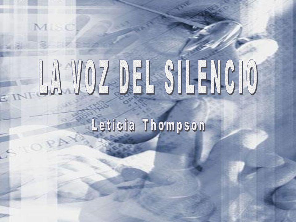 Créditos: Texto: Letícia Thompson – A voz do silêncio www.leticiathompson.net Versión em español: Eduardo e Irany Lecea Imágenes: Internet Música: Shes out of my live Formatación: Beth Norling E-mail: bethnorling@globo.com bethnorling@globo.com