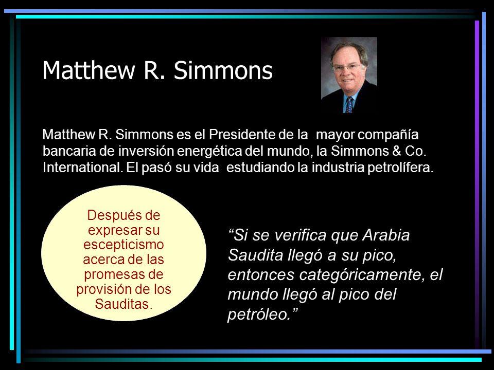 Matthew R.Simmons Matthew R.