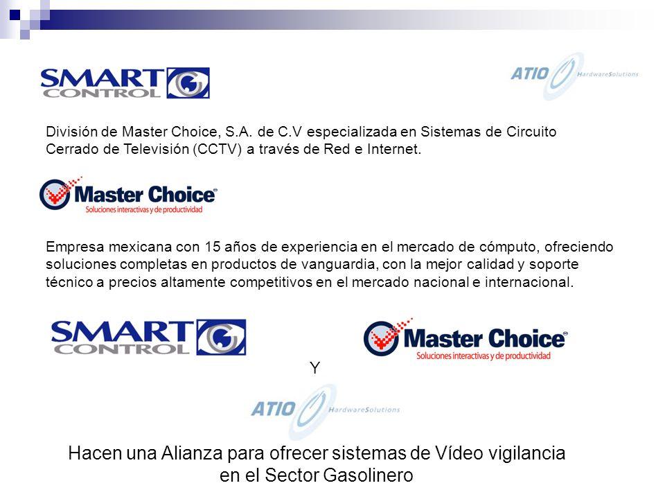 División de Master Choice, S.A.