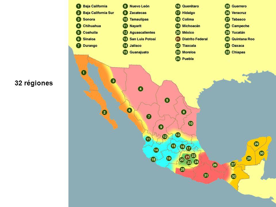 Dimensión: 1.960.000 km 2 Capital: México D.F.