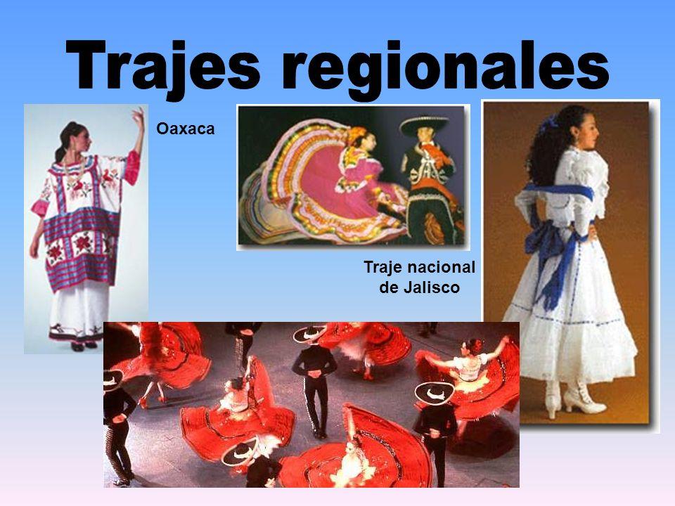 Traje nacional de Jalisco Oaxaca