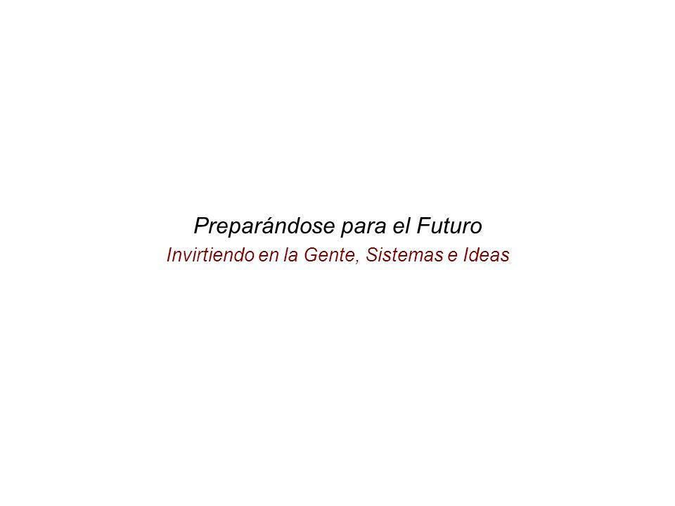 Preparándose para el Futuro Invirtiendo en la Gente, Sistemas e Ideas