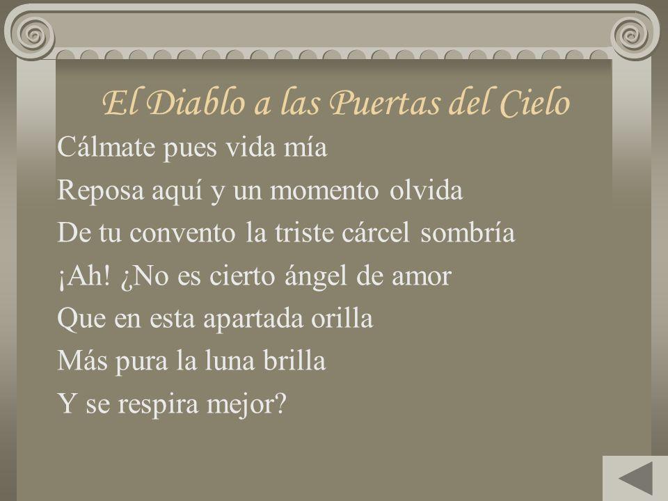 José Zorrilla Dramaturgo y poeta español, nació en el año de 1817. En su obra se advierte la fluidez y la musicalidad de sus versos. Entre sus princip