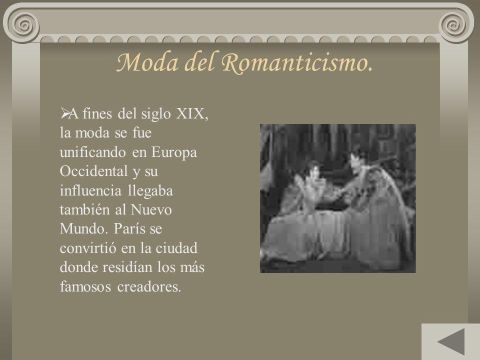 Romanticismo Iniciado en Europa a finales del siglo XVIII. Se caracterizó por el sentimentalismo y defensa de la pasión. Frente al imperio de la razón