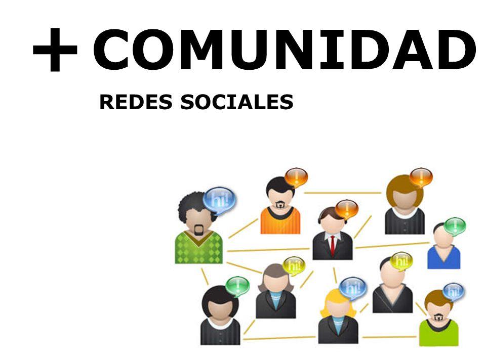 + COMUNIDAD REDES SOCIALES
