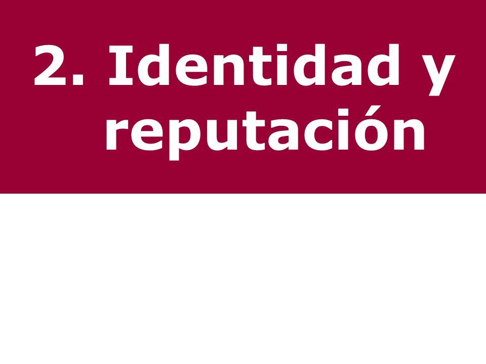 2. Identidad y reputación