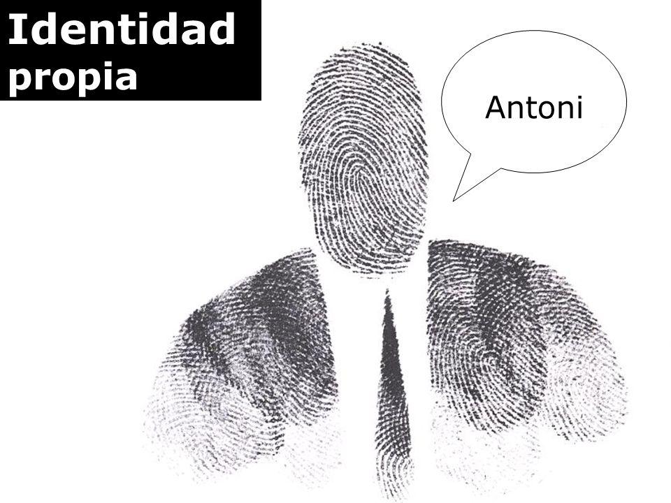 Identidad reputada Antoni AGR Tony Toni Tonino
