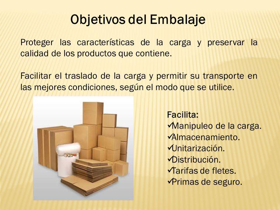 Proteger las características de la carga y preservar la calidad de los productos que contiene.