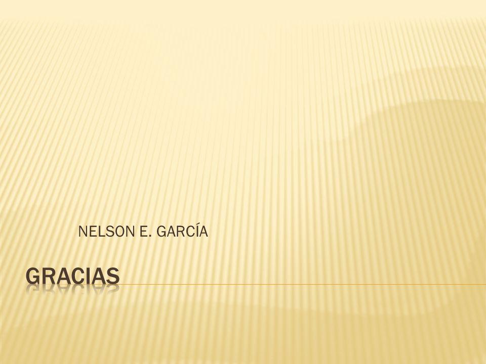 NELSON E. GARCÍA