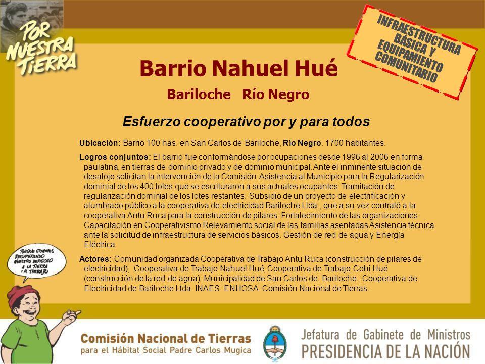 Barrio Nahuel Hué Bariloche Río Negro Ubicación: Barrio 100 has.