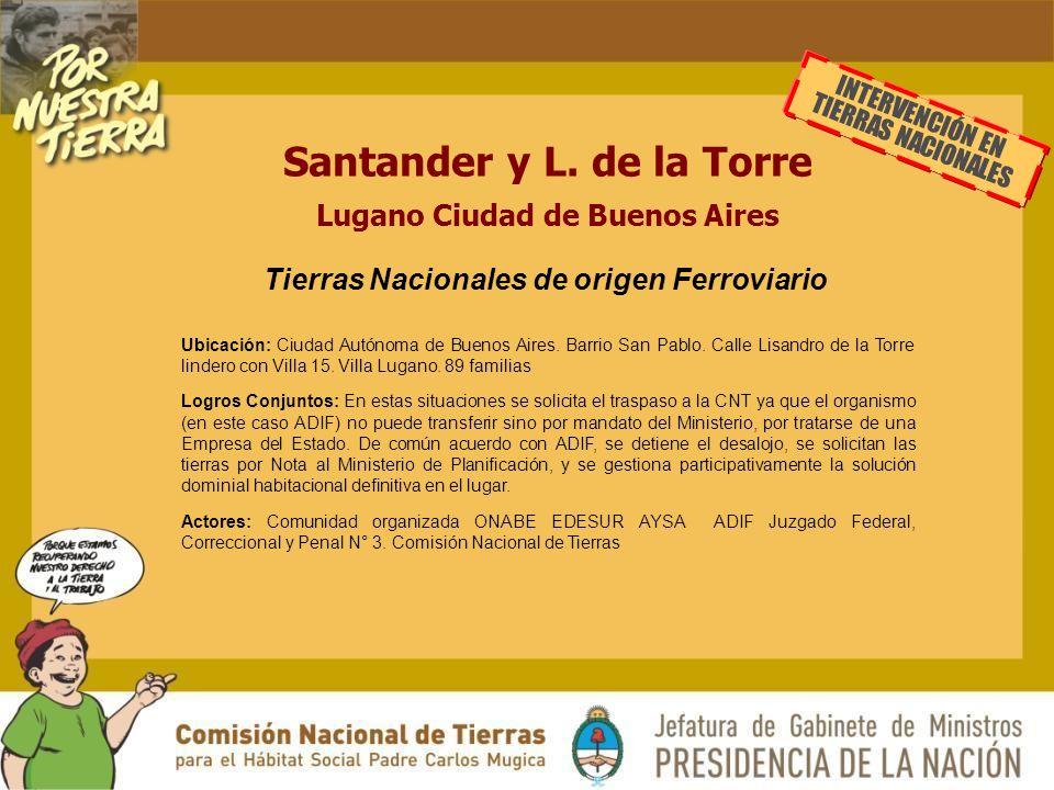 Santander y L.