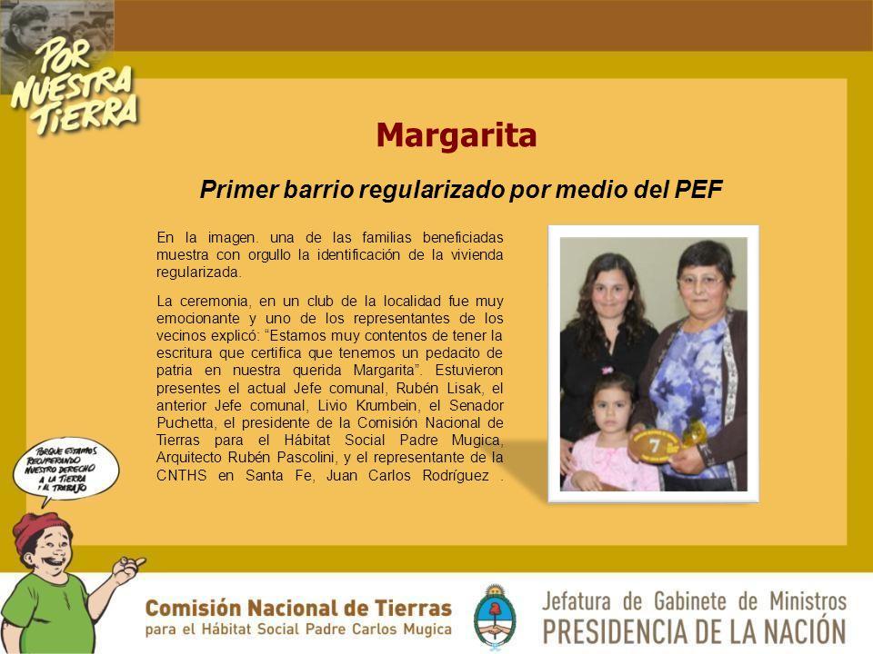 Margarita En la imagen.