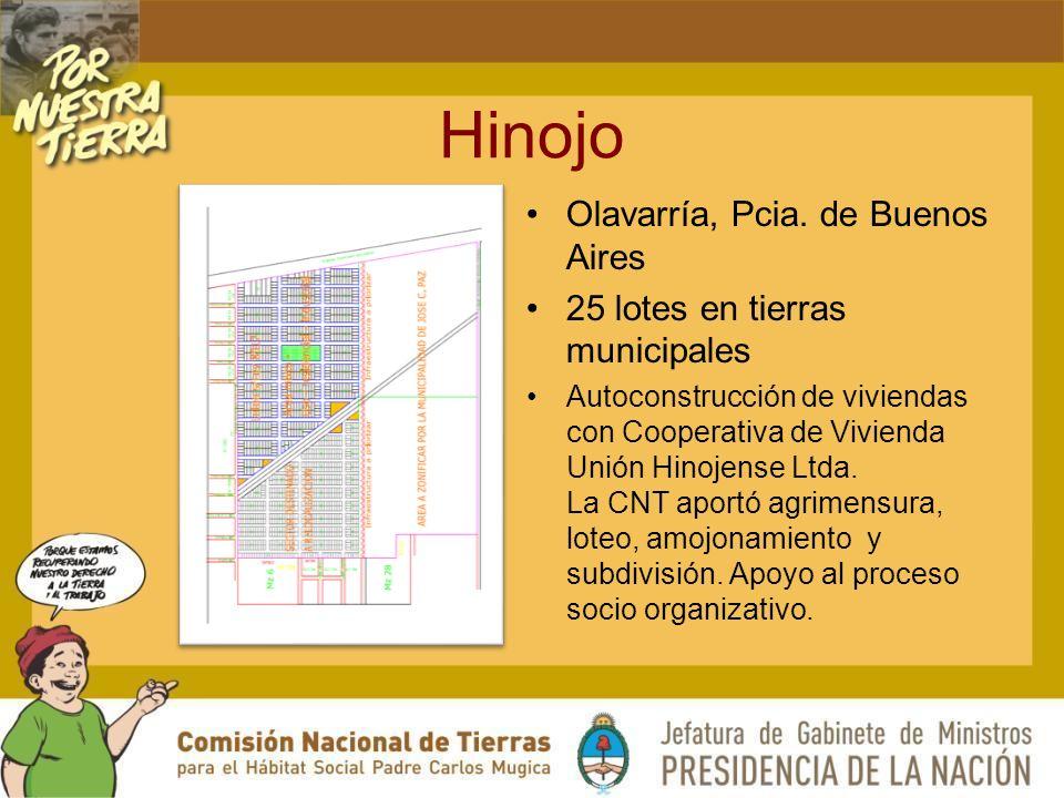 Hinojo Olavarría, Pcia.