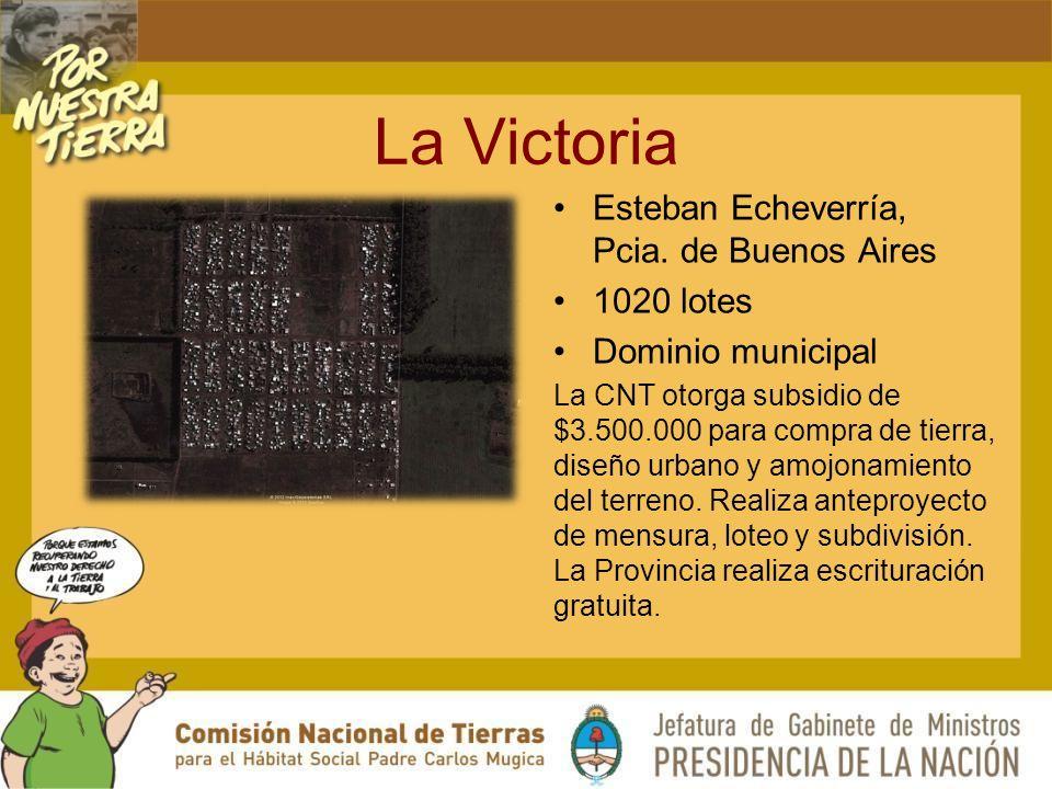La Victoria Esteban Echeverría, Pcia.