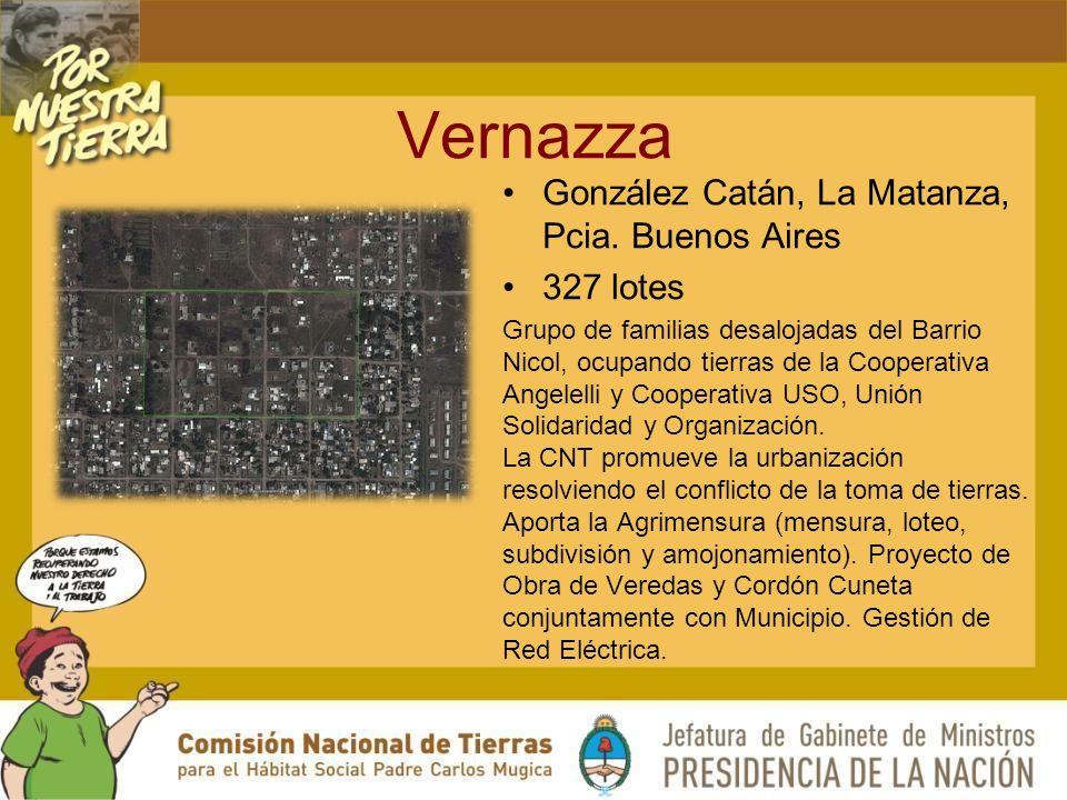 Vernazza González Catán, La Matanza, Pcia.