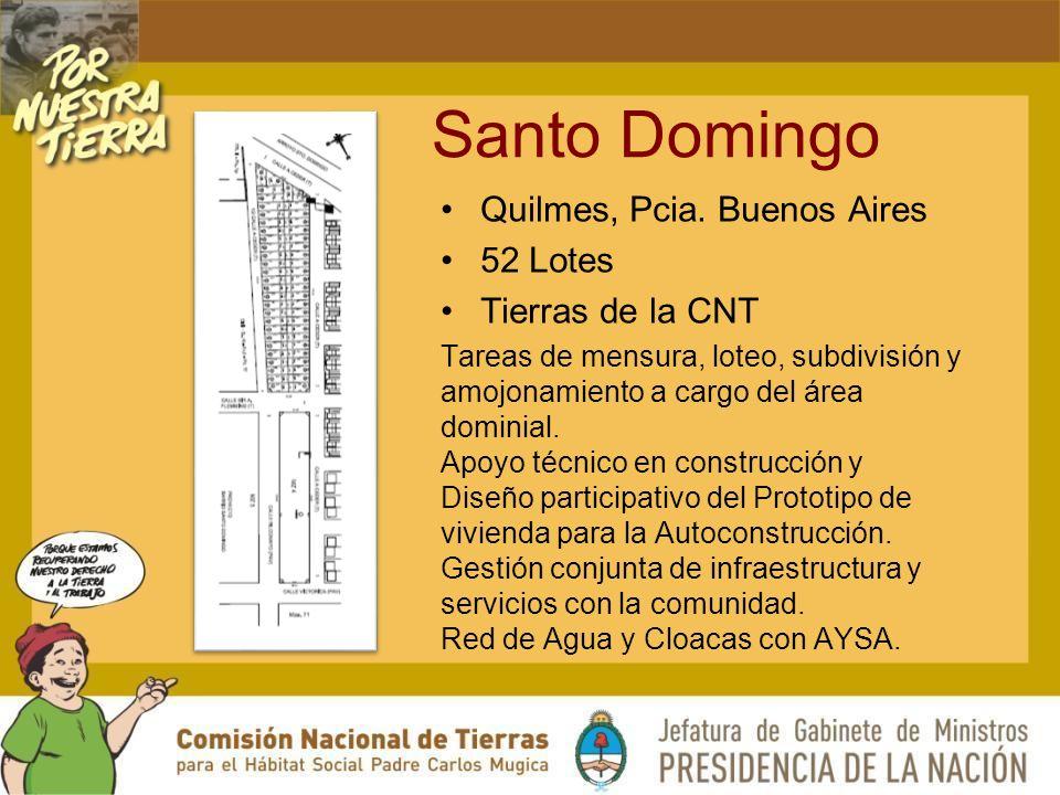 Santo Domingo Quilmes, Pcia.
