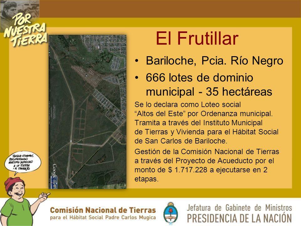 El Frutillar Bariloche, Pcia.
