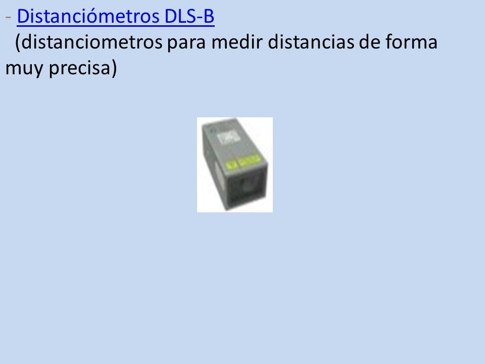 - Distanciómetros DLS-B (distanciometros para medir distancias de forma muy precisa)Distanciómetros DLS-B