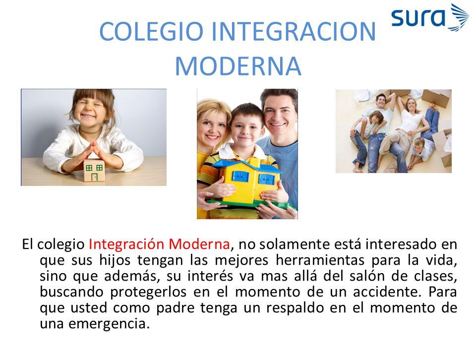 COLEGIO INTEGRACION MODERNA El colegio Integración Moderna, no solamente está interesado en que sus hijos tengan las mejores herramientas para la vida