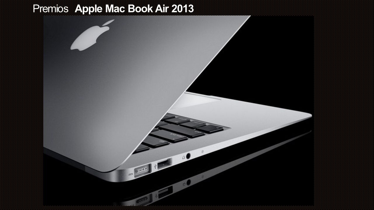 Premios Apple Mac Book Air 2013