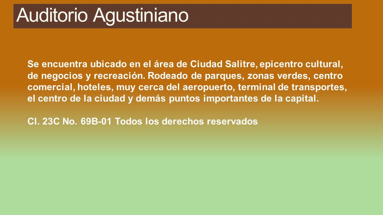 Se encuentra ubicado en el área de Ciudad Salitre, epicentro cultural, de negocios y recreación. Rodeado de parques, zonas verdes, centro comercial, h