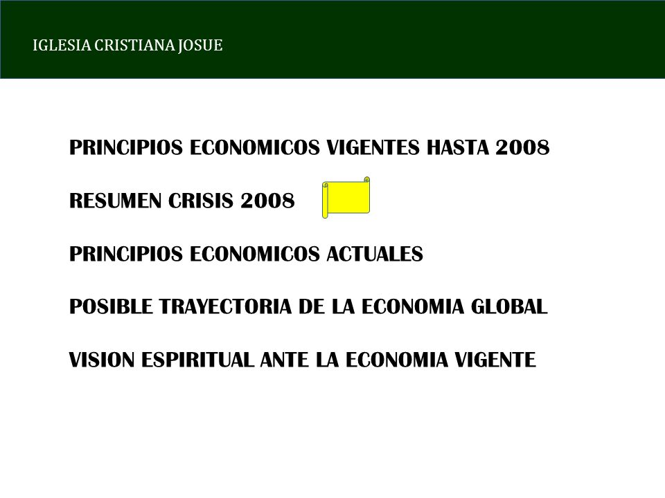 IGLESIA CRISTIANA JOSUE C.