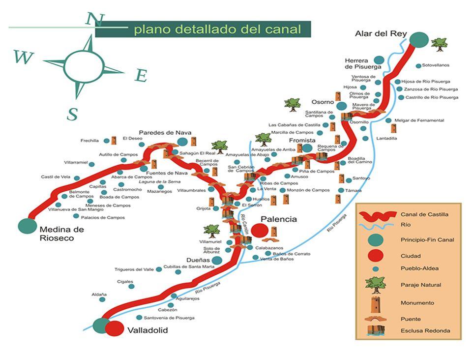 Castilla soñó un día con asomarse al mar, y el resultado fue un ambicioso proyecto de ingeniería que pretendió unir el río Duero con el mar Cantábrico