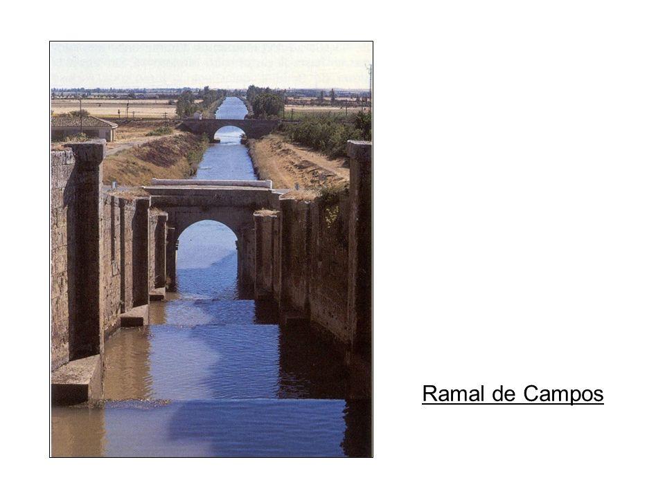 Ramal Norte Coordenadas N 42.16508 W 4.53225 Zona de la esclusa. Coordenadas N 42.16398 W 4.53333 Vistas de la zona.