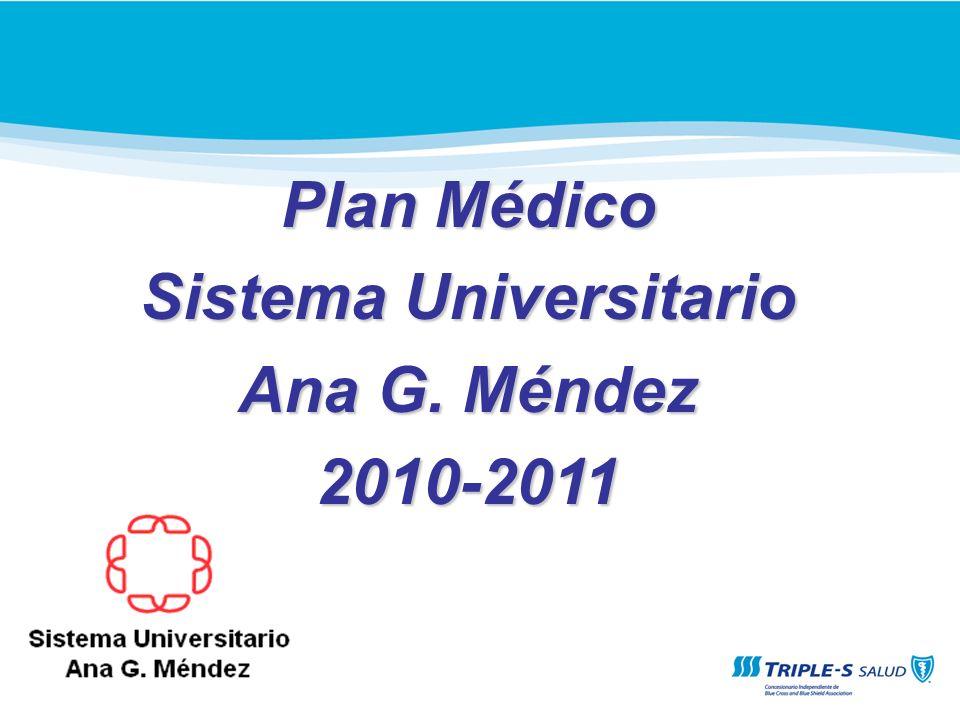 Objetivos Informar sobre la nueva cubierta del Plan Médico con la Compañía Triple S Presentar los cambios significativos en relación a la cubierta de