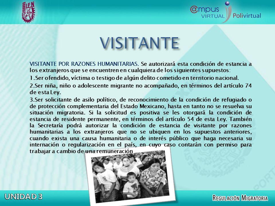 VISITANTE CON FINES DE ADOPCIÓN VISITANTE CON FINES DE ADOPCIÓN.