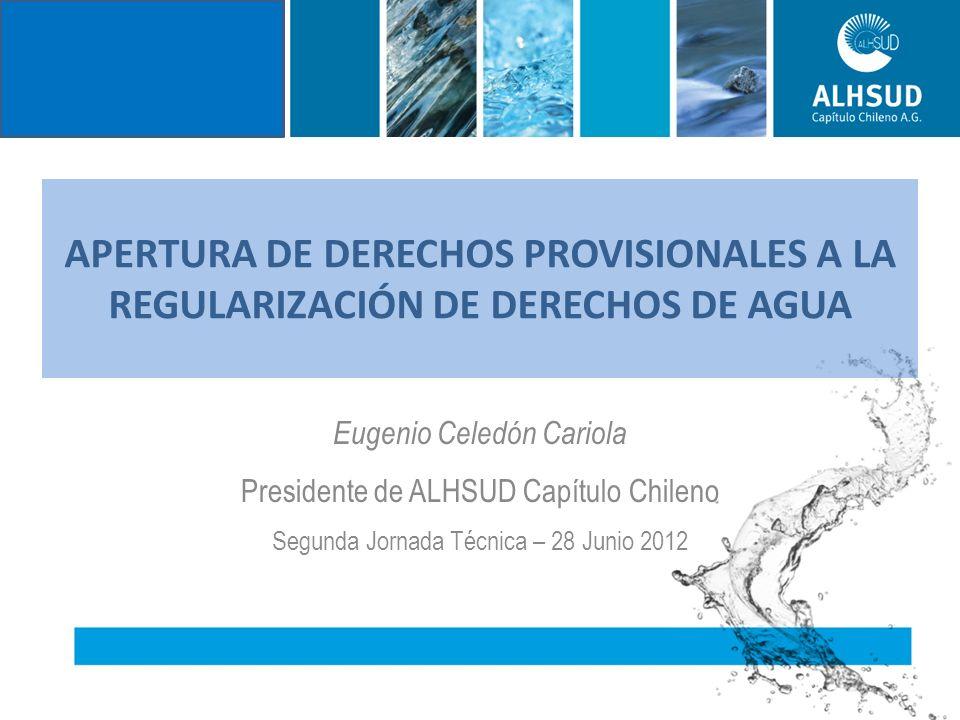 NECESIDADES DE AGUA DEL PAIS Sin considerar el desarrollo minero de las regiones del norte, solo para transformar a Chile en Potencia Agroalimentaria, se necesita generar del orden de 530.000 l/s de agua para atender la necesidad de nuevo riego de 500.000 hectáreas, determinadas por MINAGRI.