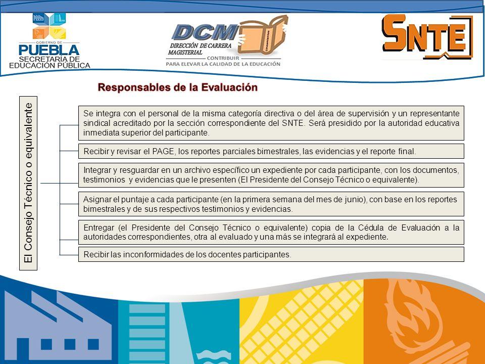 El Consejo Técnico o equivalente Se integra con el personal de la misma categoría directiva o del área de supervisión y un representante sindical acre