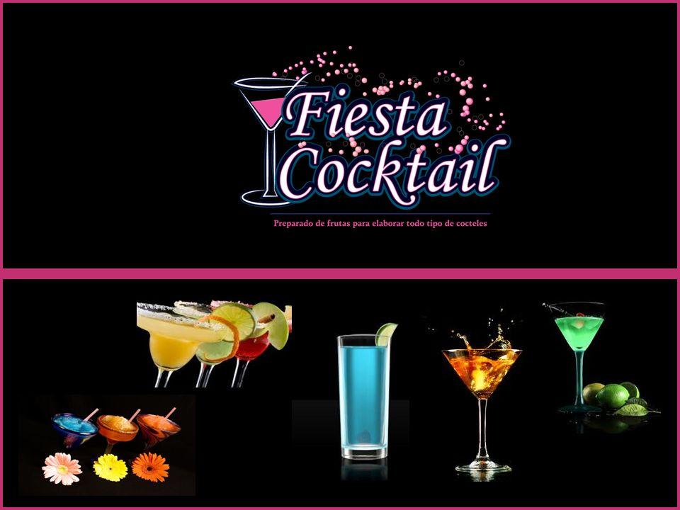 MARTINIS Ingredientes: 1 onza de Vodka o Ginebra 2 onzas de Fiesta Cocktail 3 o 4 cubos de hielo Preparaciòn Coloque en una coctelera todos los ingredientes.