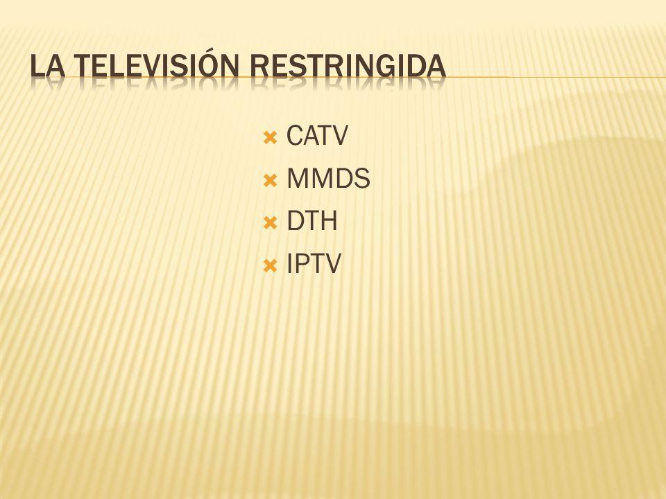 CATV MMDS DTH IPTV