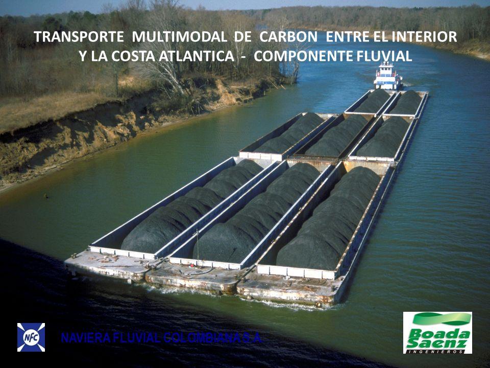 TRANSPORTE MULTIMODAL DE CARBON ENTRE EL INTERIOR Y LA COSTA ATLANTICA - COMPONENTE FLUVIAL NAVIERA FLUVIAL COLOMBIANA S.A.