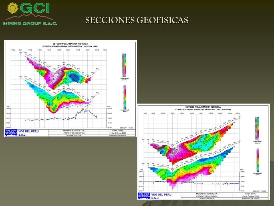 SECCIONES GEOFISICAS
